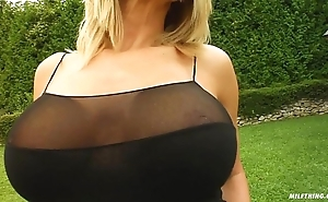 Milf law curvy milf vinnie screwed foolish unconnected with duo males