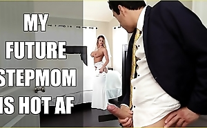 Bangbros - bride milf brooklyn chase copulates her step lassie aloft wedding day!