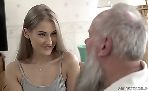 Teen dreamboat vs elderly grandad - tiffany tatum and albert