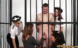 Cfnm hegemony women dominate unclothed bondservant